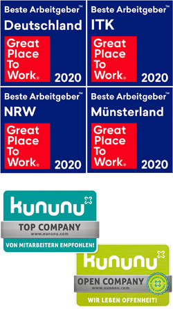 Great Place to Work 2020 + Kununu