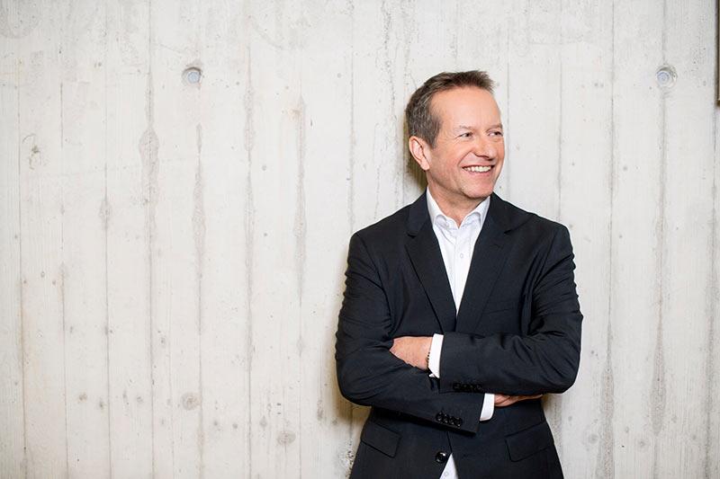 Frank Weymerich – Unternehmensgründer und Mitglied des Vorstandes