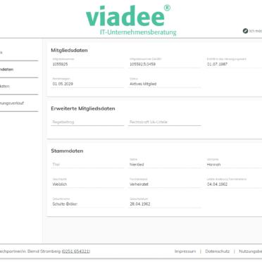Komfortable Verwaltung von Stamm-, Adress-, Kontakt- und Bankverbindungsdaten