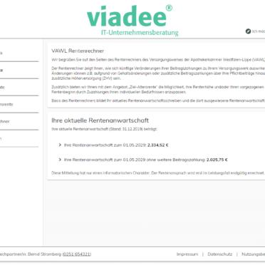 ViViR®-on Anwartschaftsrechner