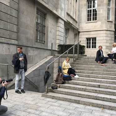 Verwaltung: Silke Sanna - Behind the Scenes
