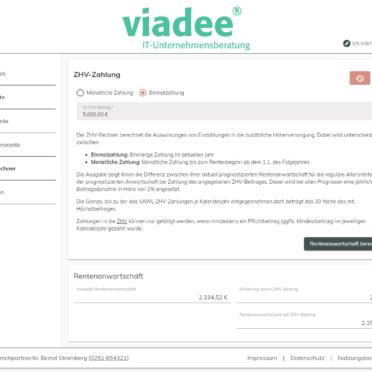 ViViR®-on Anwartschaftsrechner – ZHV-Rechner