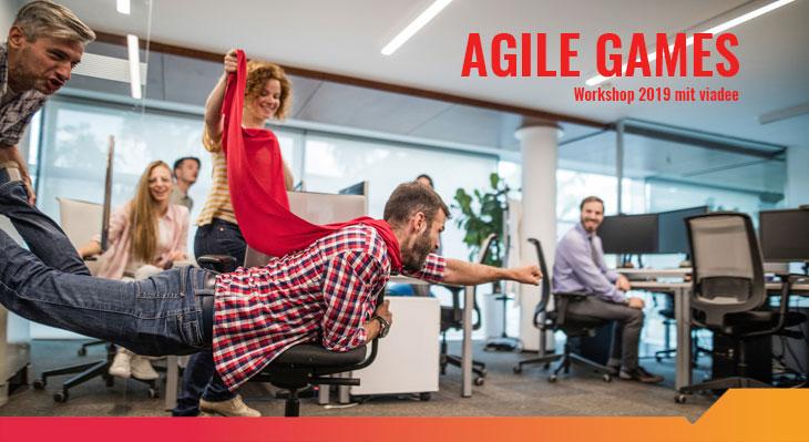 Workshop Agile Games mit der viadee