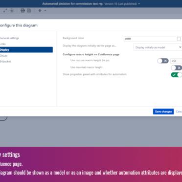 Configure display settings